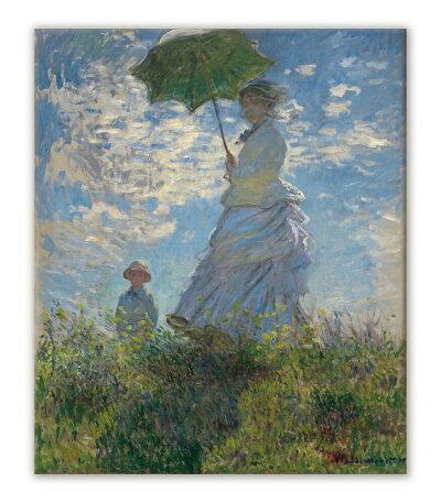 クロード・モネ「散歩、日傘をさす女」/250x300x38/S/