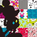 【キャンバスアート】Disney ディズニー キャンバスパネル 50角 パッチワーク1/額入り絵画・壁掛けアートは、リビングや玄関におすすめのインテリア。かわい...