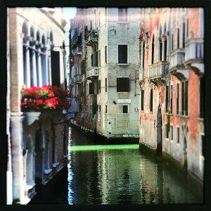 アートフレーム ジョゼフ・エタ カナル・ミアンダ1(Joseph Eta Canal Meander I)/額入り 絵画 絵 壁掛け アート リビング 玄関 トイレ インテリア かわいい 壁飾り 癒やし プレゼント ギフト アートパ