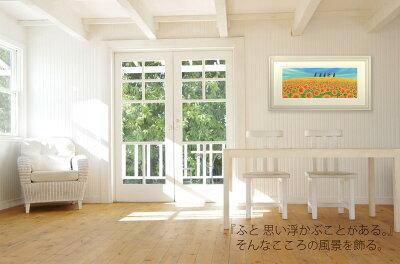 壁掛け】海のおさんぽ〔栗乃木ハルミ・くりのきはるみ〕/348x348x0/M/