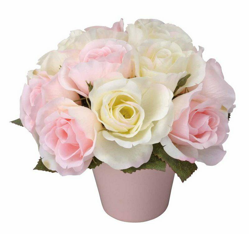 アートフラワー 造花 オーバルローズ/光触媒〔ミニタイプ〕母の日向き/光触媒 観葉植物 ウンベラータ フェイクグリーン 花 胡蝶蘭 開店祝い 開業祝い 誕生祝い 造花 アートフレーム おしゃれ Sサイズ