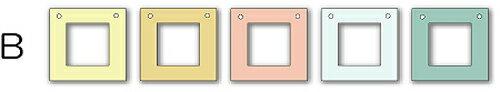 フォトフレーム ゆうパケット Garland Frame シリーズB /インテリア 壁掛け 立てかけ 記念 写真 飾り ギフト プレゼント 出産祝い 結婚祝い 写真立て おしゃれ 飾る かわいい Sサイズ