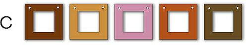 フォトフレーム ゆうパケット Garland Frame シリーズC /インテリア 壁掛け 立てかけ 記念 写真 飾り ギフト プレゼント 出産祝い 結婚祝い 写真立て おしゃれ 飾る かわいい Sサイズ