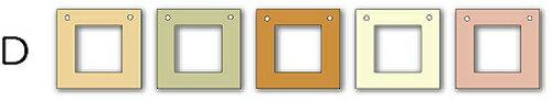 フォトフレーム ゆうパケット Garland Frame シリーズD /インテリア 壁掛け 立てかけ 記念 写真 飾り ギフト プレゼント 出産祝い 結婚祝い 写真立て おしゃれ 飾る かわいい Sサイズ