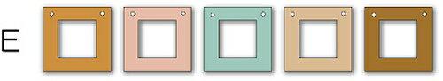 フォトフレーム ゆうパケット Garland Frame シリーズE /インテリア 壁掛け 立てかけ 記念 写真 飾り ギフト プレゼント 出産祝い 結婚祝い 写真立て おしゃれ 飾る かわいい Sサイズ