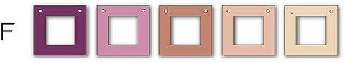 フォトフレーム ゆうパケット Garland Frame シリーズF /インテリア 壁掛け 立てかけ 記念 写真 飾り ギフト プレゼント 出産祝い 結婚祝い 写真立て おしゃれ 飾る かわいい Sサイズ