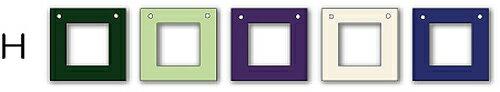 フォトフレーム ゆうパケット Garland Frame シリーズH /インテリア 壁掛け 立てかけ 記念 写真 飾り ギフト プレゼント 出産祝い 結婚祝い 写真立て おしゃれ 飾る かわいい Sサイズ