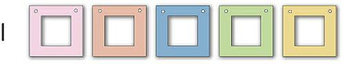 フォトフレーム ゆうパケット Garland Frame シリーズI /インテリア 壁掛け 立てかけ 記念 写真 飾り ギフト プレゼント 出産祝い 結婚祝い 写真立て おしゃれ 飾る かわいい Sサイズ