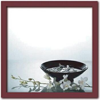 アートフレーム Anonyme アノニム Still Life with Orchids (スティル ライフ ウィズ オーキッド/静物とラン)/額入り 額装込 風景画 絵画 絵 壁掛け アート リビング 玄関 トイレ インテリア かわいい 壁飾り 癒やし プレゼント ギフト アートパネル ポスター Mサイズ