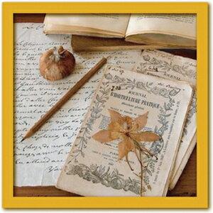 アートフレーム Celine SACHS JEANTET Herbarium (ハーバリウム/植物の標本)/インテリア 壁掛け 額入り 額装込 風景画 油絵 ポスター アート アートパネル リビング 玄関 プレゼント モダン アートフレ