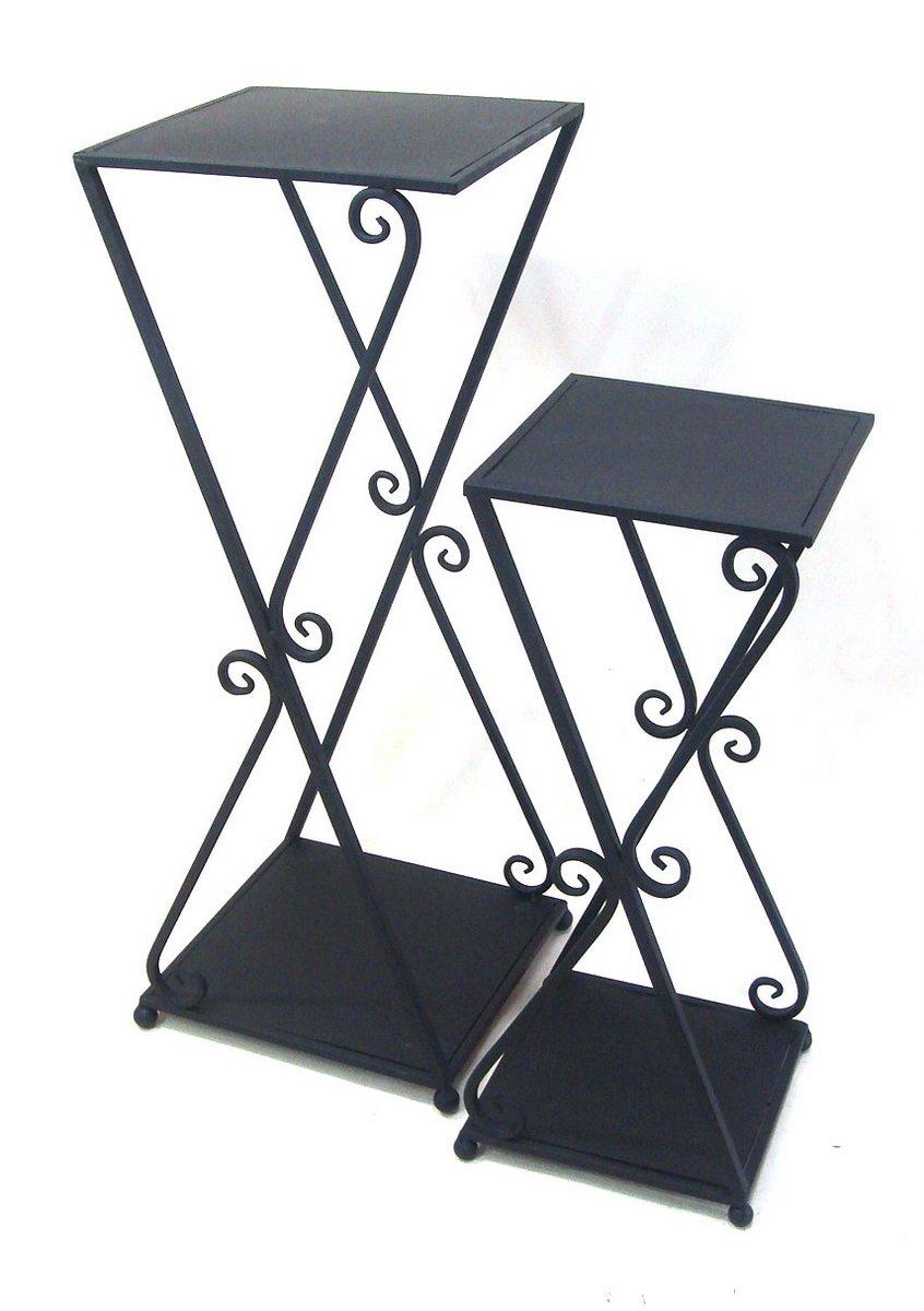 花台 プラントスタンド 花台 ランプテーブル 2個セット/インテリア 壁掛け アート アートパネル リビング 玄関 プレゼント モダン 絵画 おしゃれ 飾る シンプル モダン アジアン アンティーク Lサイズ