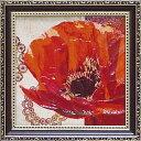【ミニゲル アートフレーム】【ゆうパケット】ベラ ドス サントス 「ボーホー ポピー」/インテリア 壁掛け おしゃれ …