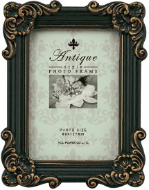 フォトフレーム アンティークスタイル フォトフレーム スクエア・サービス (アンティークブラック)/インテリア 壁掛け 立てかけ 記念 写真 飾り ギフト プレゼント 出産祝い 結婚祝い 写真立て おしゃれ 飾る かわいい Sサイズ