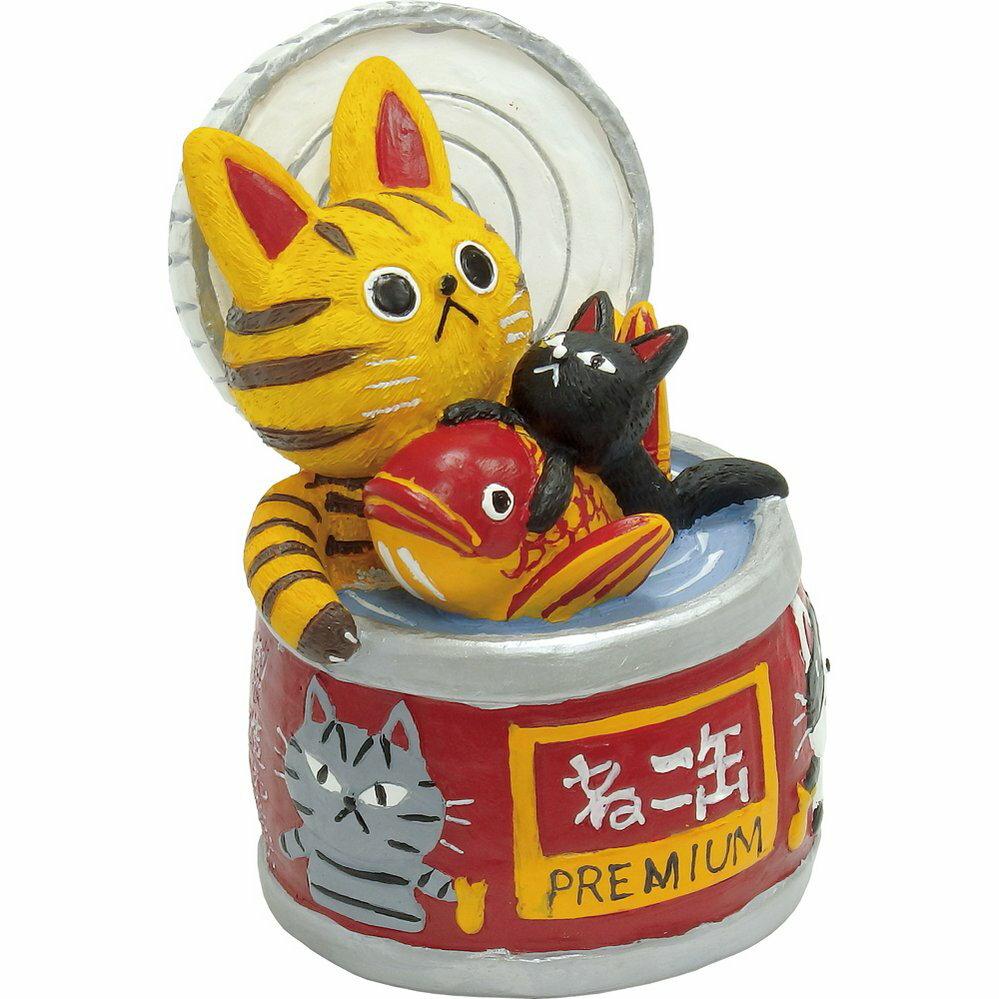 【100円OFFクーポン配布中】【置物】糸井忠晴 キャット コレクション「Mサイズ(ねこ缶)」