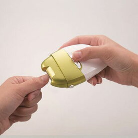 ★電動爪削りLeaf DX El-70235 電池式 ◎即納します 【後払いも可】【レビュー記入で200円クーポンGET!】