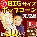 [完成品]キャラメルポップコーン 1kg 約30〜35人分[イベント バザーで大人気!業務用 メーカー直送 機械 レンタル不要。縁日 景品 …