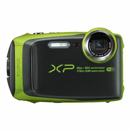 富士フイルム デジタルカメラ FinePix XP120 ライム FX-XP120LM【送料無料】