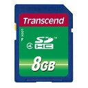 Transcend【トランセンド】SDHCカード 8GB class4 /TS8GSDHC4【ネコポス対応 送料324円★】