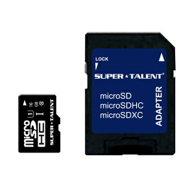 SUPER★TALENT【スーパータレント】 microSDHCカード 16GB class10 /ST08MSU1P【ネコポス対応 送料324円★】