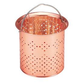 排水口ゴミ受け 深型 純銅(板) H-475 キッチン 排水口 流し台 シンク ごみ受け 銅製 銅イオン 日本製