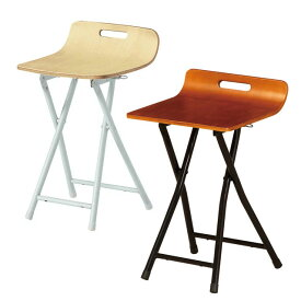 折りたたみ椅子 チェア 座面木製 弘益 プライ フォールディングチェアー PFC-PY05 ブラウン ナチュラル