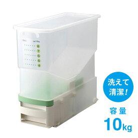 洗える 計量 米びつ ライサー ハイザー ライスストッカー 無洗米対応 ビッツ BRB-CG ベルカ Belka 送料無料