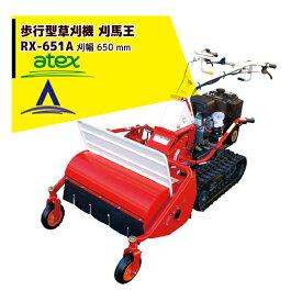 【キャッシュレスでP5倍還元!】【アテックス】atex 乗用草刈機 刈馬王ハンマー RX-651A