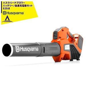 Husqvarna|ハスクバーナ ブロワー 充電器/急速充電器セット品 525iB