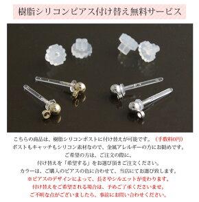 ウェーブリングピアス/イヤリングE40-1【楽天BOX受取対象商品】/ピアスみたいなイヤリング