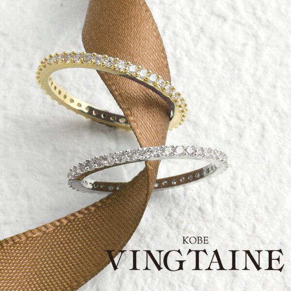 エタニティリング/指輪/キュービックジルコニア R-109