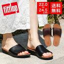 【国内正規品】fitflop フィットフロップ サンダル シューズ 靴 SOLA SLIDES - LEATHER スライドサンダル 疲れにくい …