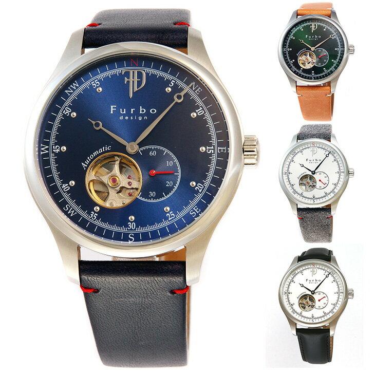 フルボデザイン 腕時計 Furbo design F5030SBLBL F5030SGRLB F5030SSIGY F5030SIGY メンズ【送料無料】 時計 【日本製 自動巻き】かっこいい オシャレ 男性 社会人 ビジネス プレゼント ギフト