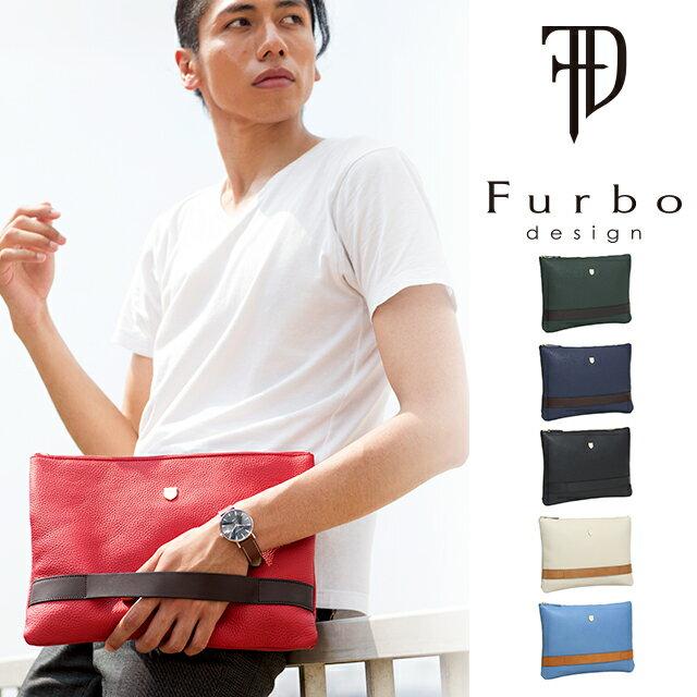 フルボデザイン Furbo design シュリンク レザー クラッチ ショルダー バッグ Made In Japan Shrink Leather Clutch Shoulder Bag FRB202 シュリンク レザー クラッチ ショルダー バッグ プレゼント ギフト 送料無料