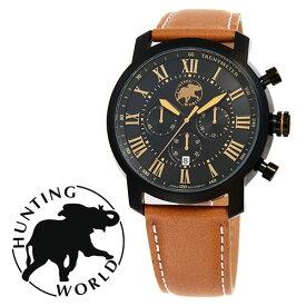 HUNTING WORLD ハンティングワールド HW930BK 時計 メンズ ビジネス