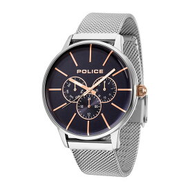 【国内正規品】腕時計 ポリス POLICE 14999JS-03MM メンズ ビジネス ウォッチ ステンレス アクセサリー