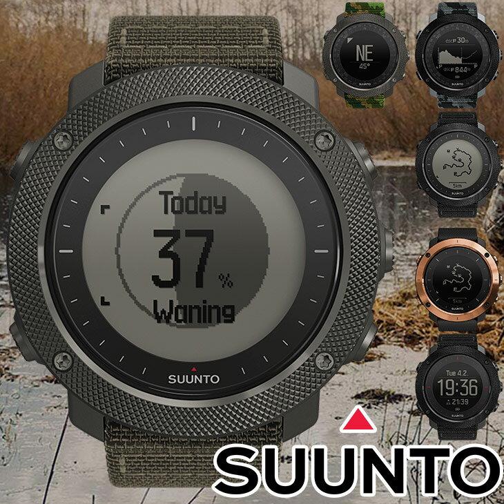 【国内正規品】SUUNTO スント 腕時計 TRAVERSE ALPHA トラバース アルファ GPS スポーツ アウトドア 登山 トレッキング SS023157000 SS022292000 SS022469000 SS023443000 SS023445000 SS023446000 送料無料