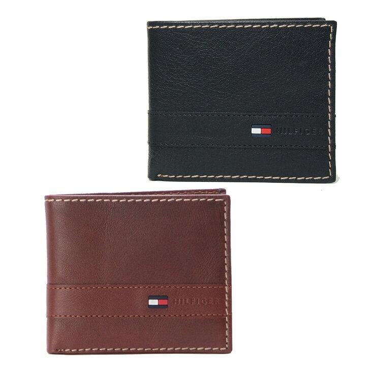 トミー ヒルフィガー 財布 TOMMY HILFIGER 二つ折り財布 Superwaxy 折財布 31TL25X019(96-5503)