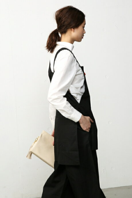 【AZUL BY MOUSSY】エプロン付サロペット AZUL BY MOUSSY/アズール バイ マウジー/レディース/ワンピース ワンピース【MARKDOWN】
