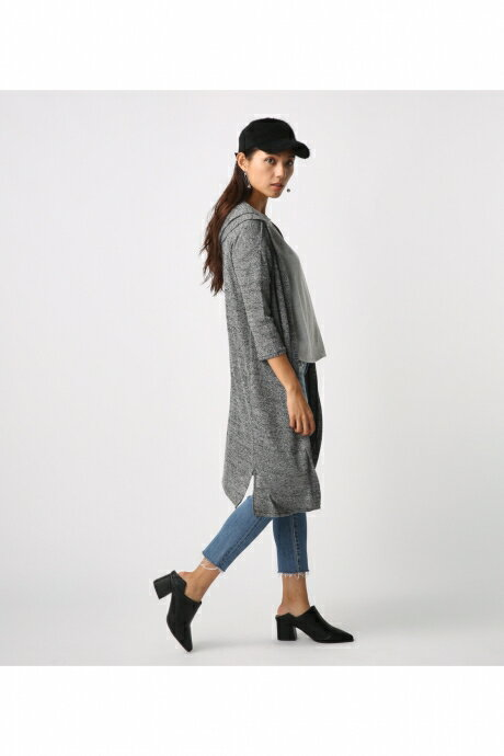 【AZUL BY MOUSSY】Mixフーディトッパー AZUL BY MOUSSY/アズール バイ マウジー/レディース/トップス カーディガン【MARKDOWN】