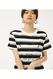 I Couldn't TEE AZUL BY MOUSSY/アズール バイ マウジー/レディース/トップス カットソー【MARKDOWN】