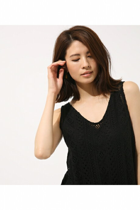 【AZUL BY MOUSSY】エスニックレースチュニック AZUL BY MOUSSY/アズール バイ マウジー/レディース/トップス シャツ ブラウス【MARKDOWN】
