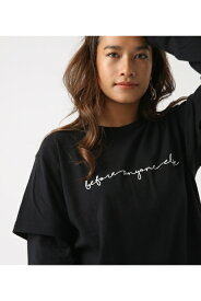 Before layered TEE AZUL BY MOUSSY/アズール バイ マウジー/レディース/トップス カットソー【MARKDOWN】