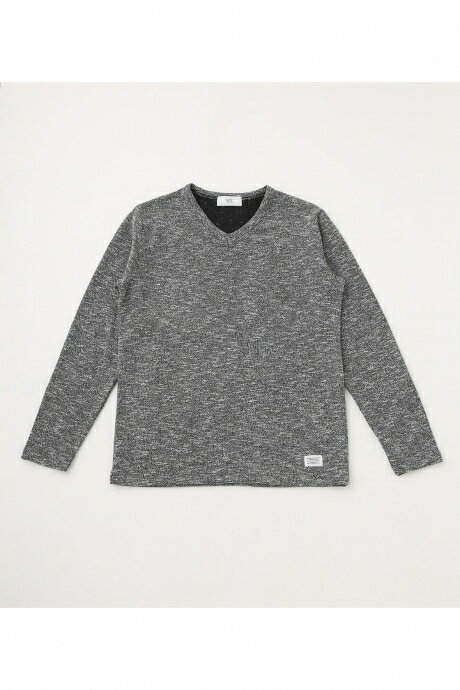 【AZUL BY MOUSSY】SLUB PILE LONG SLEEVE AZUL BY MOUSSY/アズール バイ マウジー/メンズ/トップス カットソー/プルオーバー