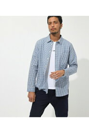 タイプライターパターンシャツ AZUL BY MOUSSY/アズール バイ マウジー/メンズ/トップス シャツ ブラウス【MARKDOWN】