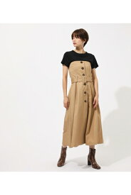 TRENCH BARE ONEPIECE/トレンチベアーワンピース AZUL BY MOUSSY/アズール バイ マウジー/レディース/ワンピース ワンピース