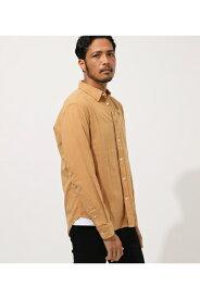 《10月14日まで期間限定価格》FLANNEL PLAIN SHIRT/フランネルプレーンシャツ AZUL BY MOUSSY/アズール バイ マウジー/メンズ/トップス シャツ ブラウス【MARKDOWN】