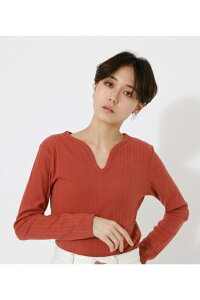 HEART NECK TOPS/ハートネックトップス / AZUL BY MOUSSY/アズール バイ マウジー/レディース/トップス カットソー【MARKDOWN】
