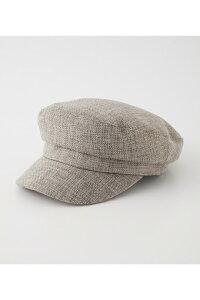 LINEN LIKE CASQUETTE/リネンライクキャスケット / AZUL BY MOUSSY/アズール バイ マウジー/レディース/ファッション小物 帽子【MARKDOWN】
