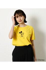 STANDARD MICKEY TEE/スタンダードミッキーTシャツ / AZUL BY MOUSSY/アズール バイ マウジー/レディース/トップス カットソー【MARKDOWN】