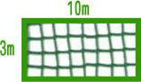 36本ゴルフネット 3M×10M (グリーン)